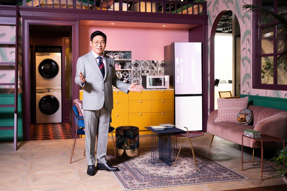 Samsung apunta a los hogares inteligentes con su línea de electrodomésticos