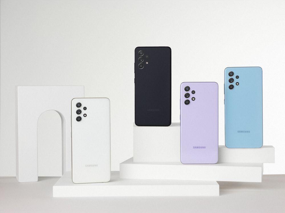 Los nuevos teléfonos de la serie Galaxy A, con los que Samsung quiere complacer a los millennials
